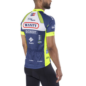 Cube Team Wanty Bike Jersey Shortsleeve Men blue